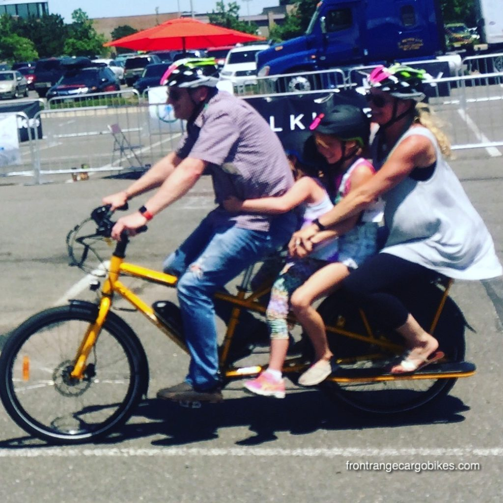 Family bike Sandwich